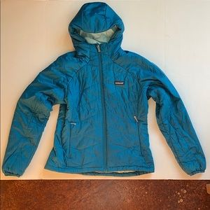 Patagonia puff hooded jacket, size medium